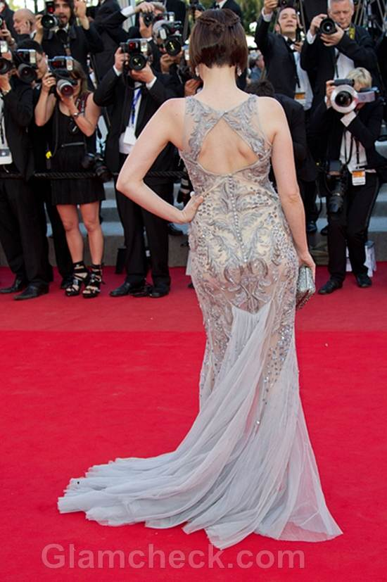 Roxane Mesquida Gown at 2012 Cannes