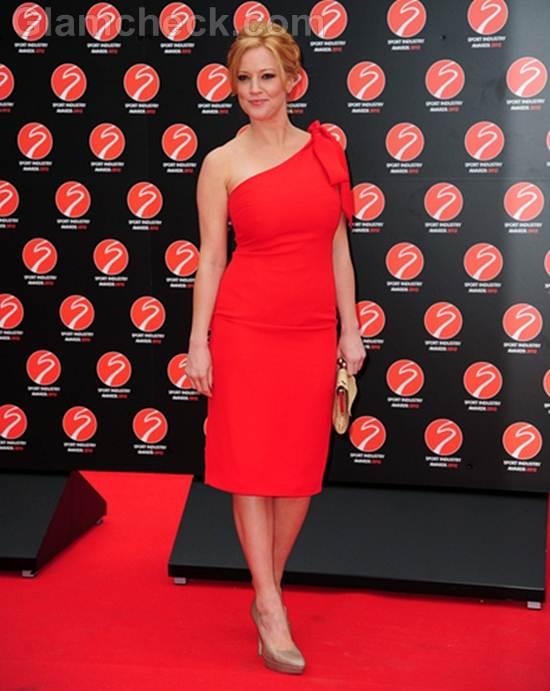 Sarah-Jane Mee Sport Industry Awards 2012