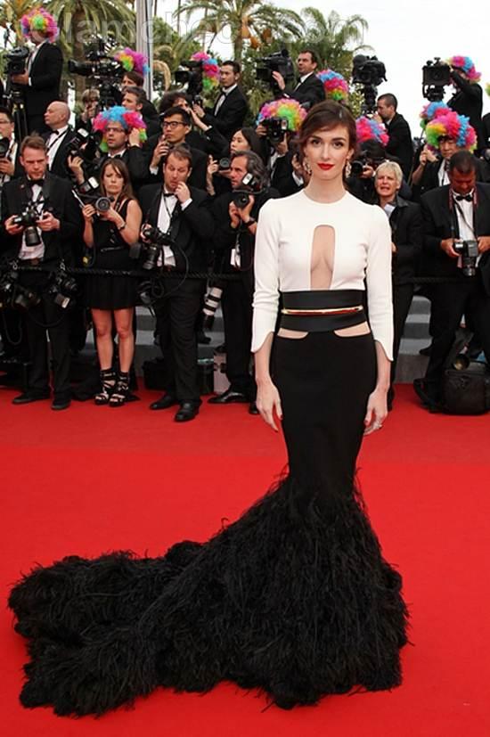 red carpet gowns cannes film festival 2012 day 3 Paz Vega