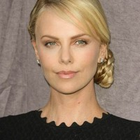 Charlize Theron bald for new role