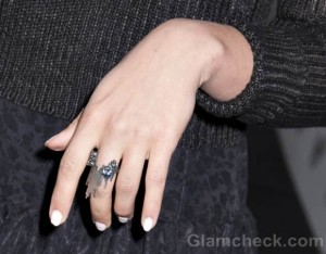 Dianna Agron ring