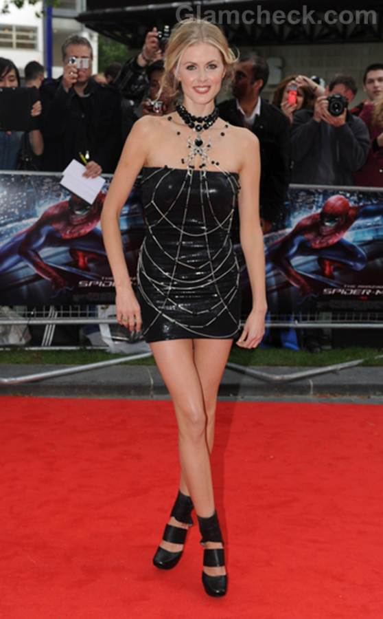 Donna Air the amazing spider-man premiere