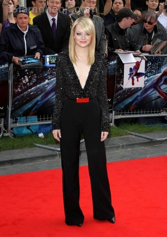 Emma stone jumpsuit the amazing spider-man