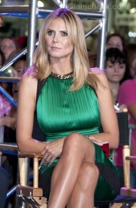 Heidi Klum project runway 10th anniversary