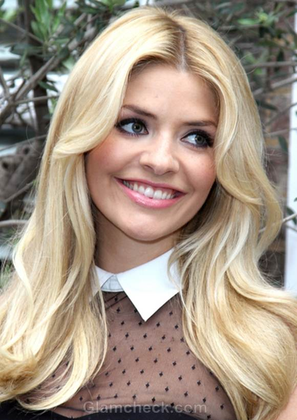 Holly Willoughby hairstyle
