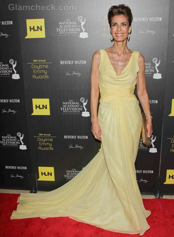 Kristian Alfonso yellow gown