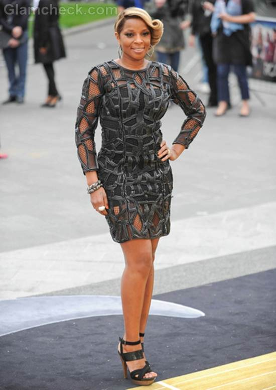 Mary J Blige Rock of Ages Premiere