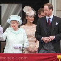 Queen Elizabeth II Catherine Duchess of Cambridge Prince William