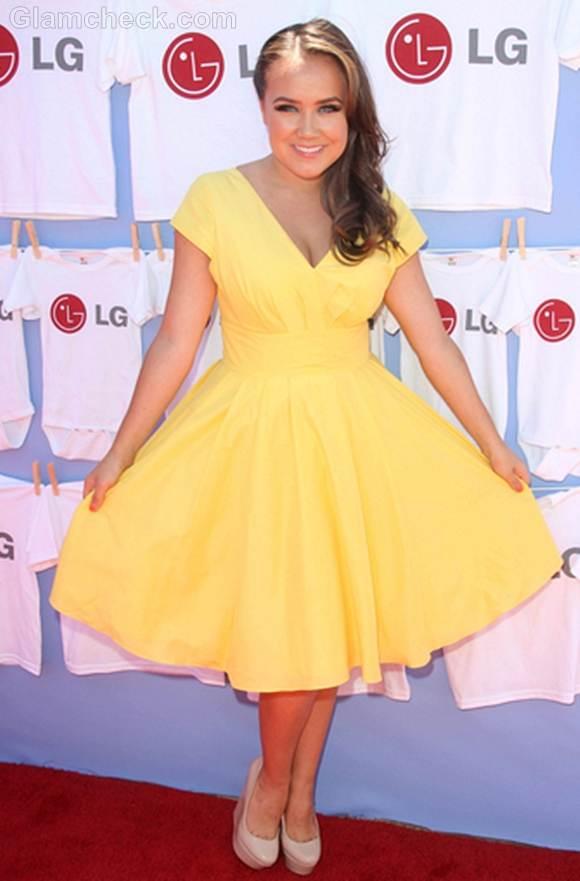 yellow dress Jennifer Veal