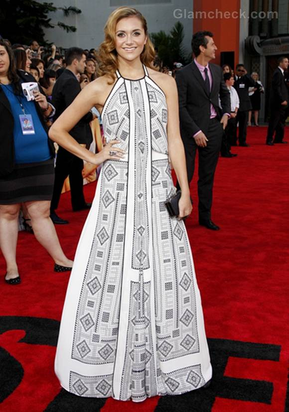 Alison Stoner long dress