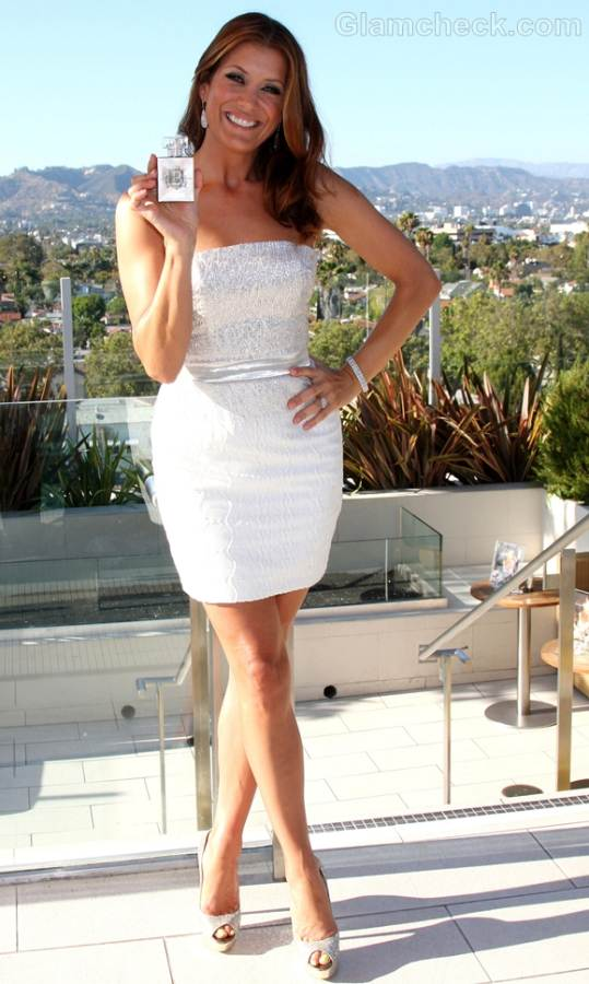 Kate Walsh perfume launch boyfriend billionaire