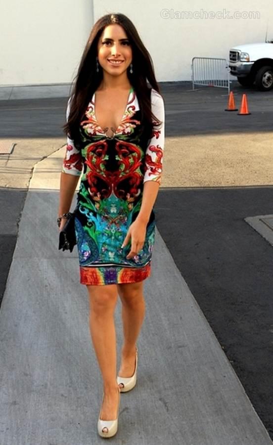 printed dress Caren Brooks