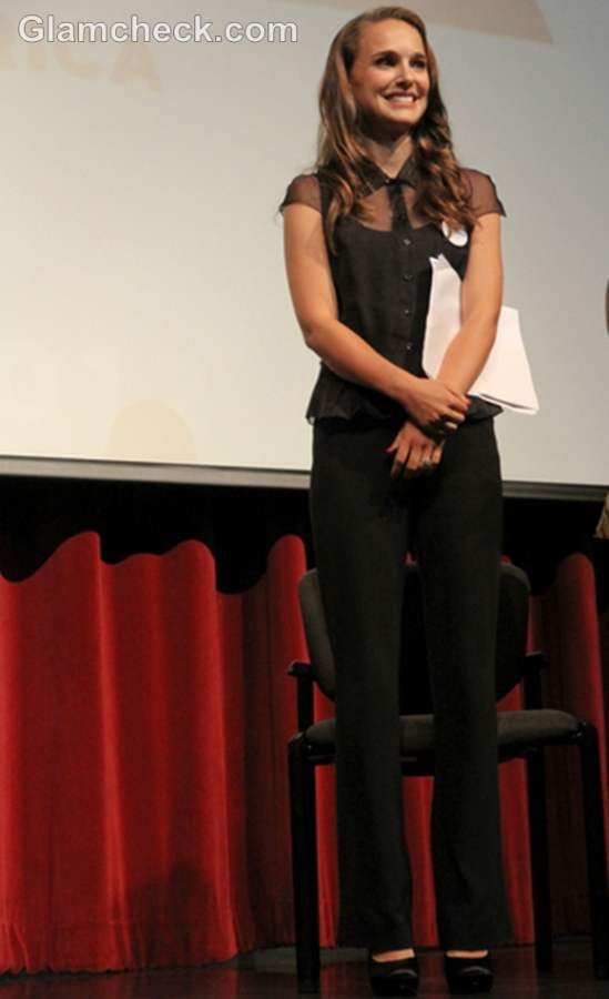 Natalie Portman at Obama Re-Election Summit