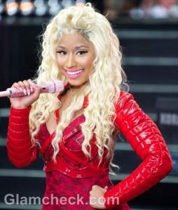 Nicki Minaj Red Bodysuit