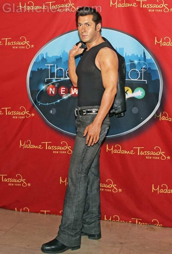 Salman Khan Wax Figure at Madame Tussauds