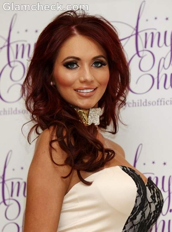 Amy Childs winter Clothing Launch