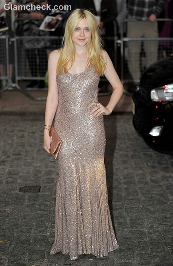 Dakota Fanning at Now is Good UK Premiere