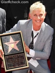 Ellen DeGeneres Latest Star on Walk of Fame