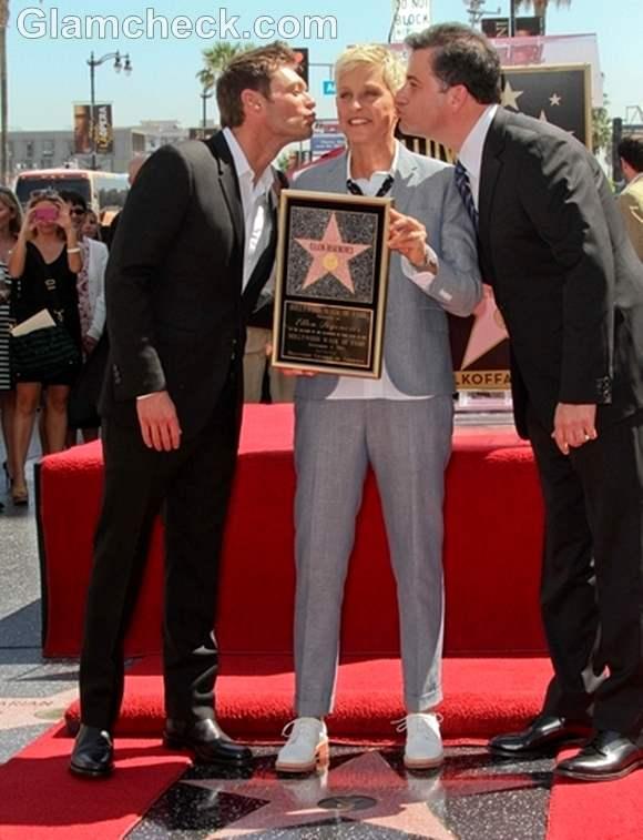 Ellen DeGeneres Star Walk of Fame