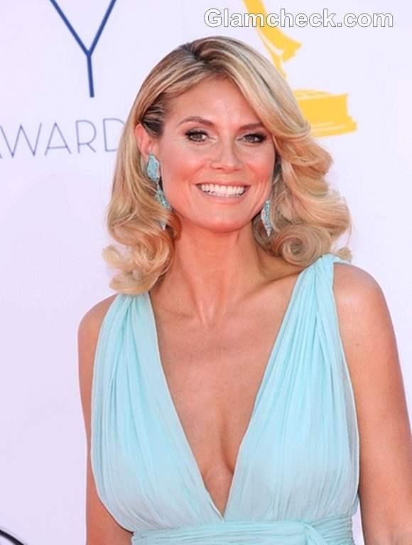 Heidi Klum Emmys 2012