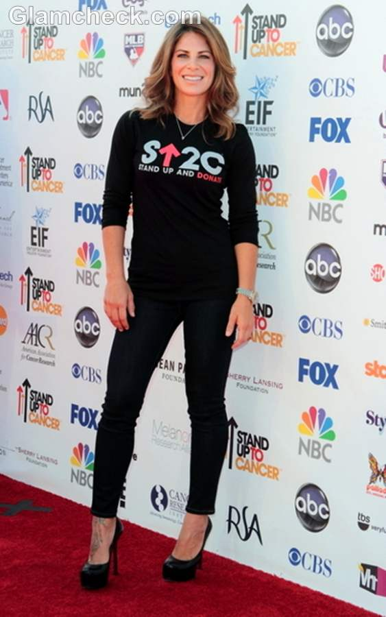 Jillian Michaels Stand Up to Cancer Fundraiser