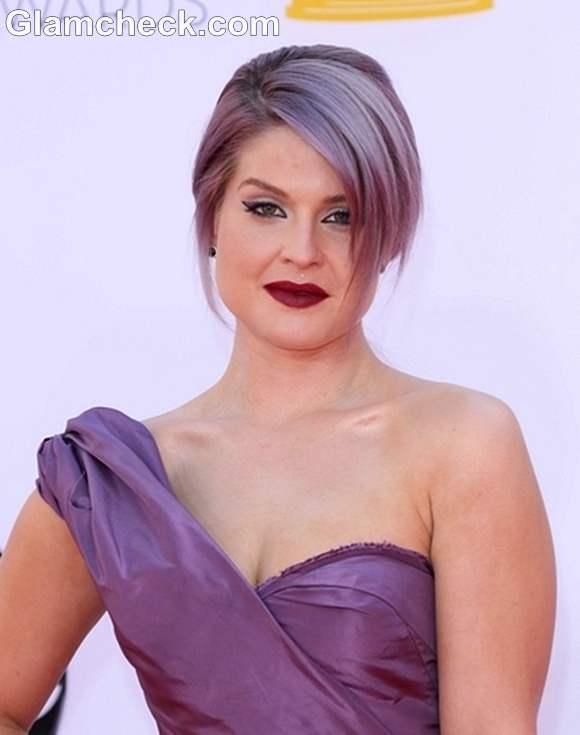 Kelly Osbourne hairstyle Emmy Awards 2012