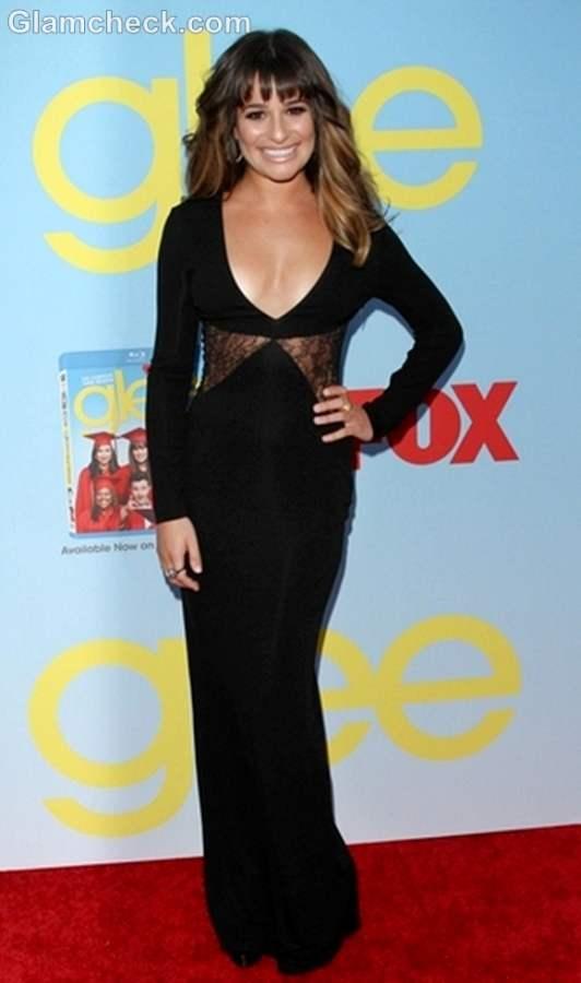 Lea Michele at Glee Season 4 Premiere