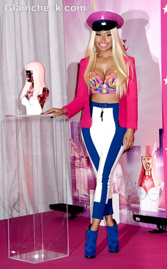 Nicki Minaj Launches Perfume Pink Friday