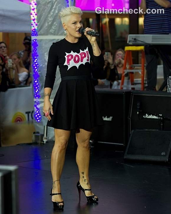 Pink on Today Show