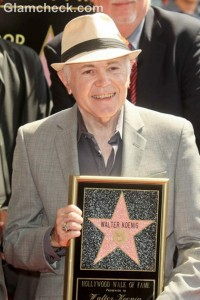Walter Koenig Receives Star on Hollywood Walk of Fame