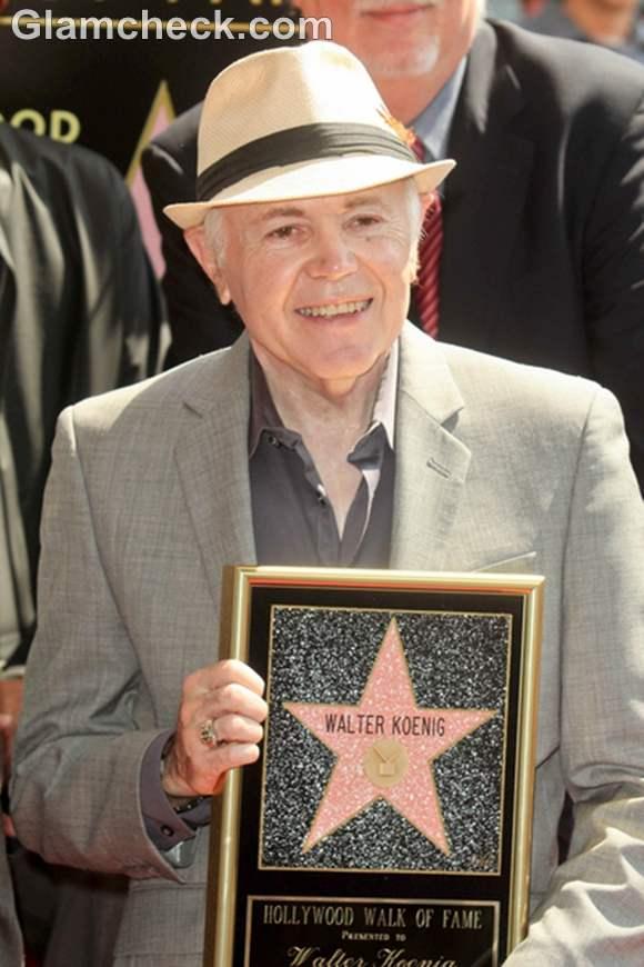 Walter Koenig Receives Star on Hollywood Walk of Fame