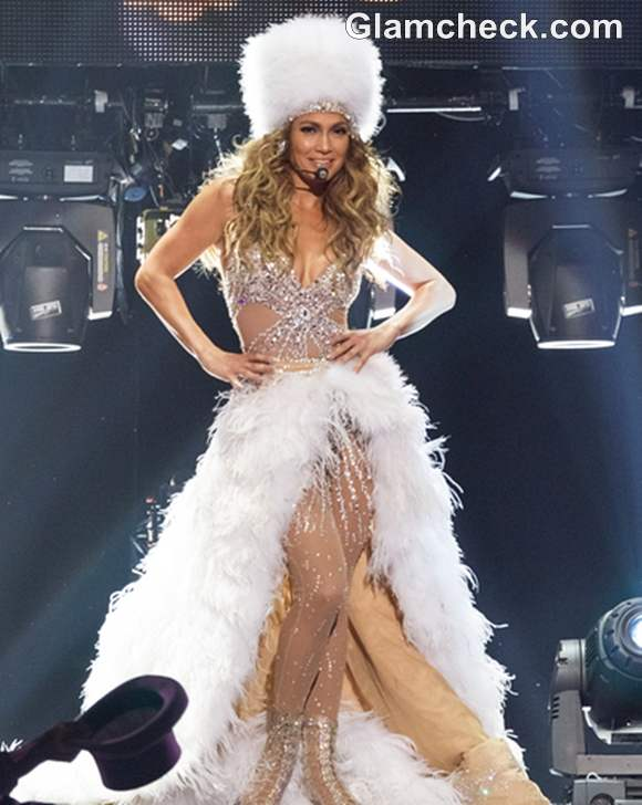 Jennifer Lopez Outfit at Lisbon Concert