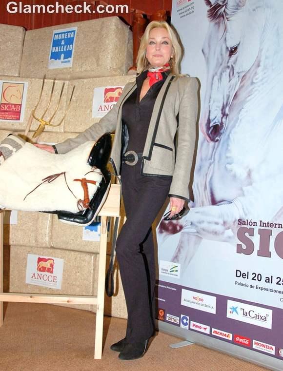 Bo Derek at International Horse Fair