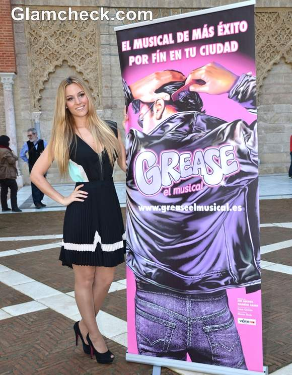 Edurne Performs Grease El Musical Presentation-2