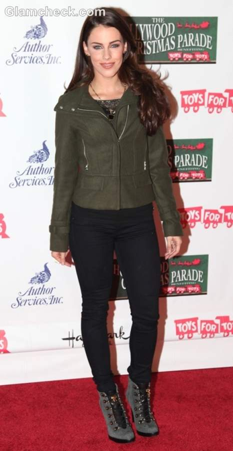 Jessica Lowndes look at 2012 Hollywood Parade