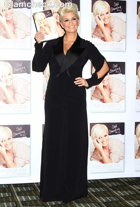 Kerry Katona Signs Copies of Autobiography Still Standing in London