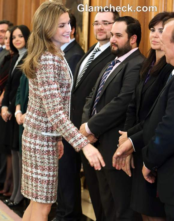 Princess Letizia of Spain Attends Event for the Spanish Rare Disease Federation