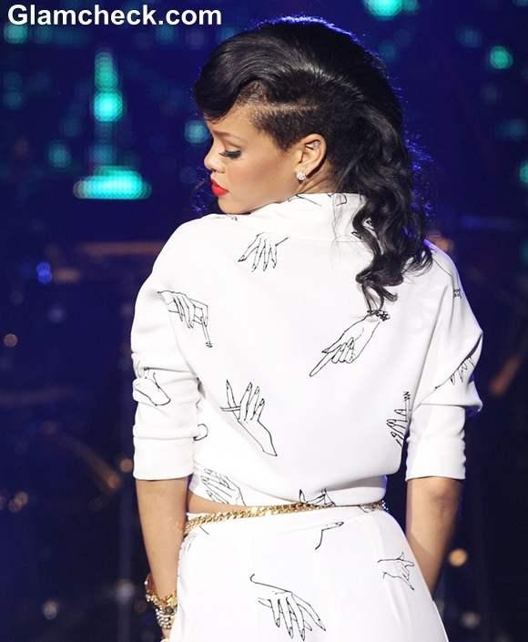 Rihanna 777 Secret Gig Tour performance