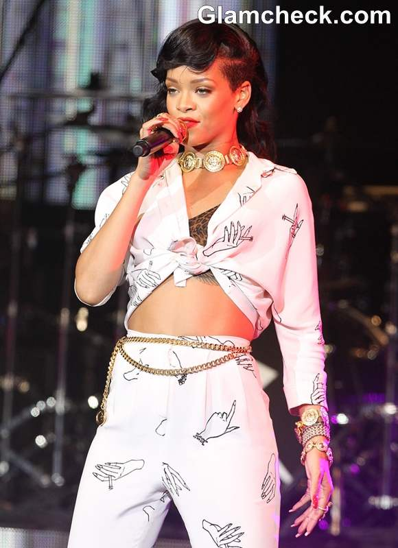 Rihanna 777 Secret Gig Tour