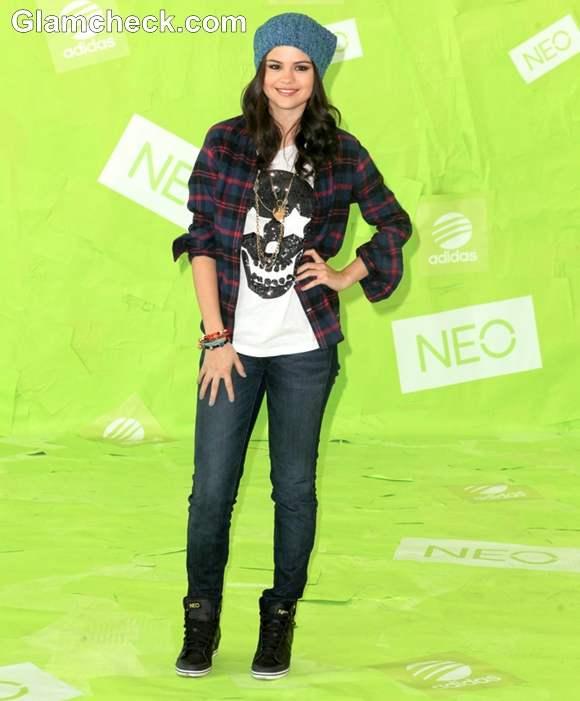 Selena Gomez  Adidas NEO Label