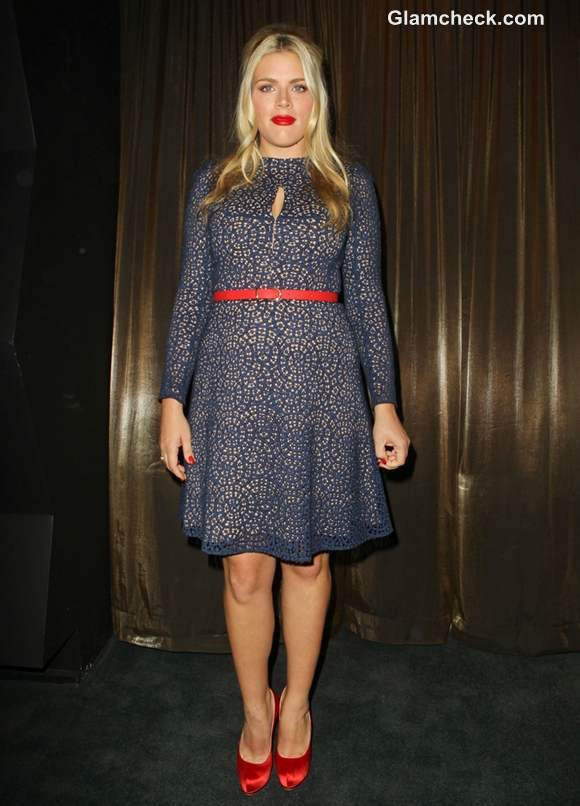 Busy Philipps in Blue at SAG Nominations Announcement