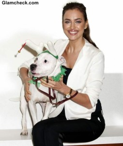 Irina Shayk Urges Fans to Adopt Abandoned Pups for Christmas