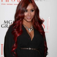 Nicole Snooki Polizzi Stylish and Sexy at Post-fight Party