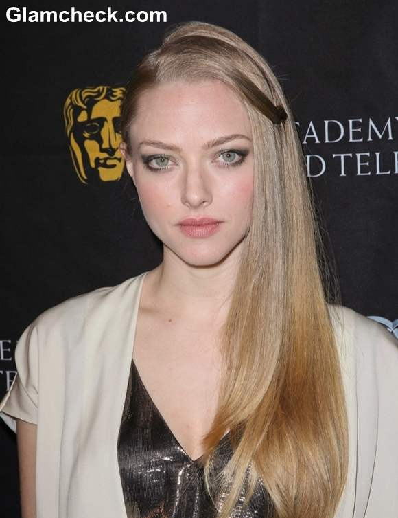 Amanda Seyfried Tasteful in Ivory Number at 2013 BAFTA Tea Party