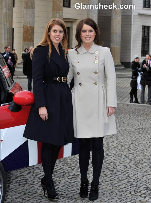 Princesses Beatrice Eugenie of York 2013