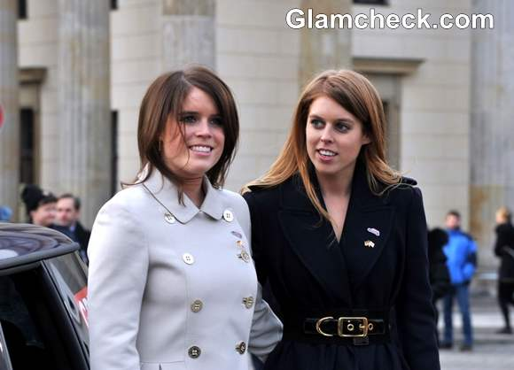 Princesses Beatrice  Eugenie of York in Berlin