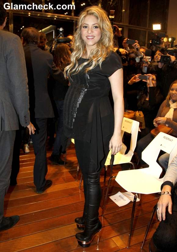 Shakira baby bump 2013