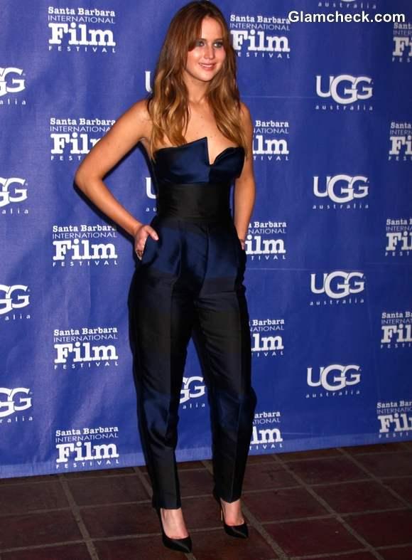Jennifer Lawrence at 2013 SBIFF Awards Show