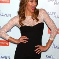 Jill Wagner at Safe Haven Premiere