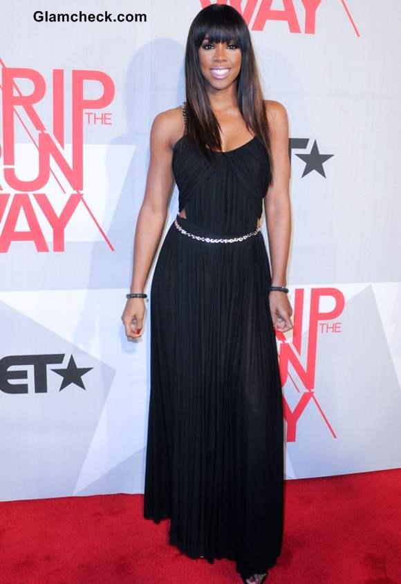 Kelly Rowland at the BET Rip the Runway 2013